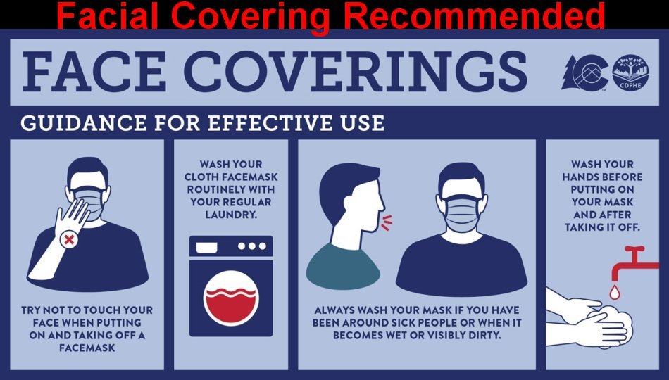 Facial Covering Recommendationm