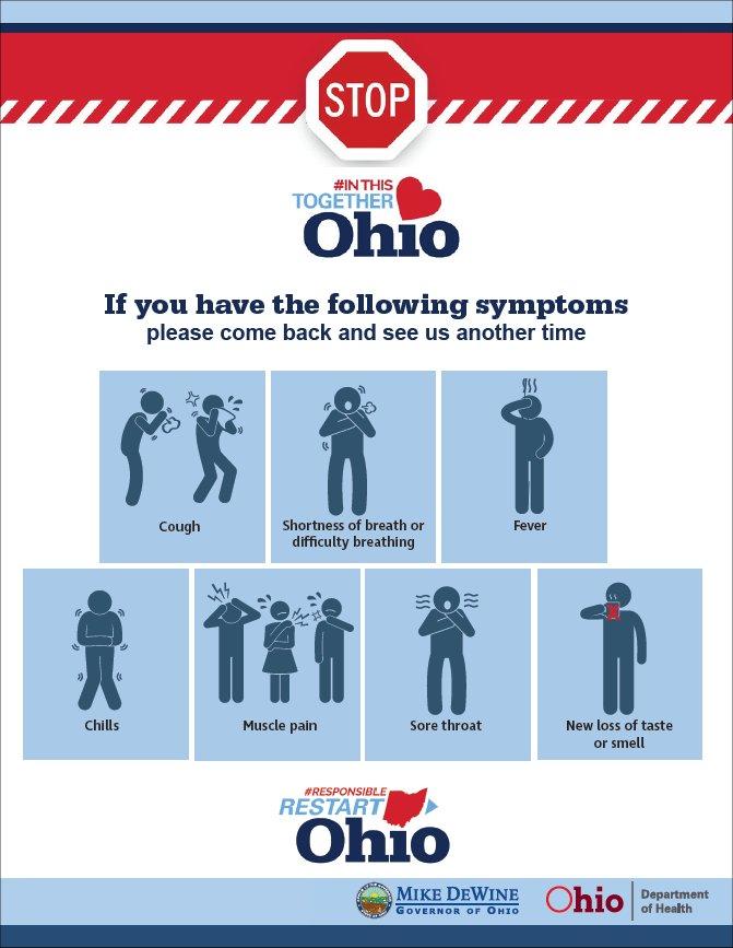 Symptoms Warning